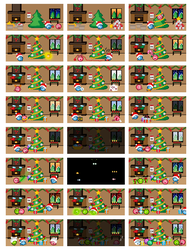 A Very Emoticonal Advent Calendar 2014 by mercscilla