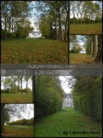 Autumn Chateau pack by Cat-in-the-Stock