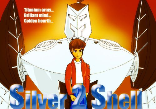 Silver Shell 2 color by misoguchi