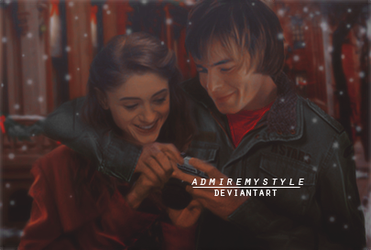 Manip Couple: Nancy Wheeler and Jonathan Byers by AdmireMyStyle