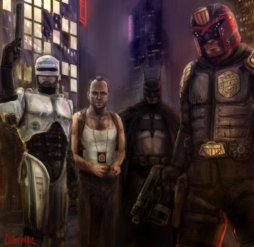 Justice League by kill-stereo