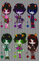 Troll Adoptable Batch #4 (CLOSED) by Attack-On-Adopts