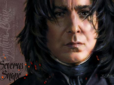 Severus Snape wallpaper by Cynthia-Blair