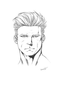 How to Draw Male Heads: Picture Perfect Portraits by ClaytonBarton
