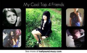 My Four BFFs and Main Friend by Lovepiko