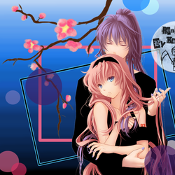Gakupo and Luka Vocaloid Icon by MangaMacho