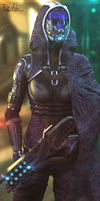 Admiral Tali'Zorah N7Day by TZVH