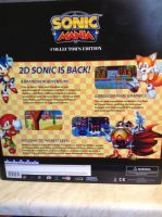 Sonic Mania Collector's Edition (PS4) by DazzyADeviant