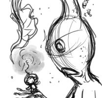 Olimars en Serie - From Sketch to Finish by Ammonite-Amy