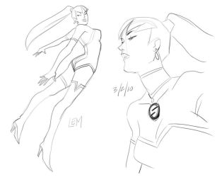 Faces of superwoman by ArchiveSW