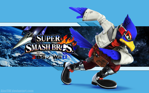 Falco Wallpaper - Super Smash Bros. Wii U/3DS by AlexTHF