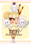YCH Sweet Sundae [AUCTION OPEN] by Lucina-Waterbell