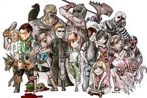 Resident Evil by ma6
