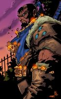Battle Chasers-Maestro by SplashColors