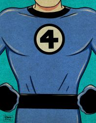 Mr. Fantastic! by ArtNomad