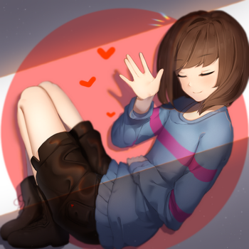 [Undertale] Frisk by Sasoura