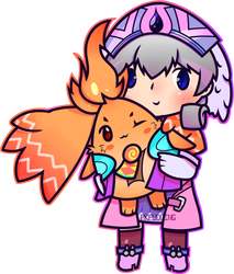 Melia And Riki by pkpudding