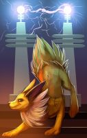 Jolteon by BlindCoyote