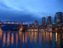 Early evening in Vancouver by c-driver