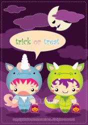 Trick or Treat by Cukismo