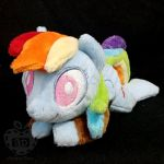 Rainbow Dash ''Lazy Pony'' Beanie by AppleDew
