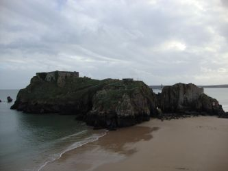 St. Catherine's Island, Tenby by M-A-Capelsion