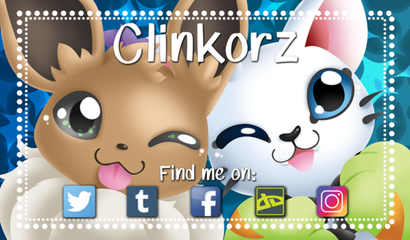 Clinkorz' Business card by Clinkorz