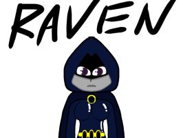 Raven by Voobit