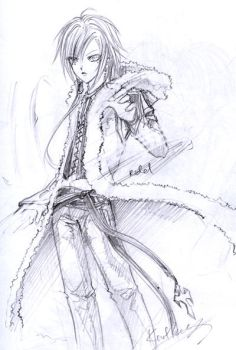 riddy pencil drawing 3 by KnotBerry