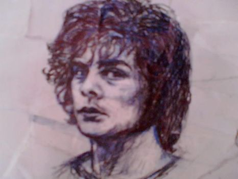 brmc pete drawing by pigletface