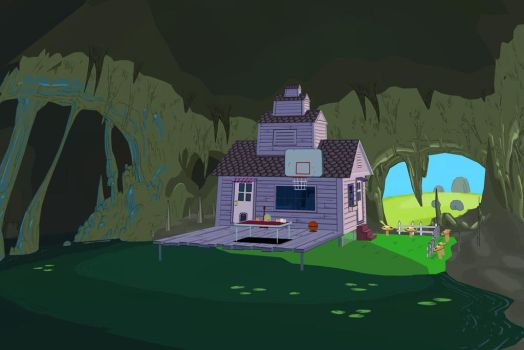 [MMD] Adventure Time - Marceline Cave by arisumatio
