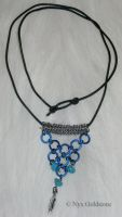 Turquoise Necklace by nyxgoldstone