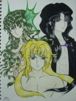 Dioses: The Olympian Brothers by ehatsumi