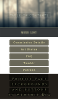 Free-to-Use Profile Page Theme by Memphis-Rex