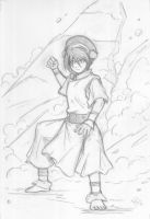 Toph Bei Fong- by J-crusader