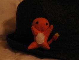 Teeny Charmander by The-Paper-Lady-42