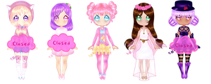 Adoptables 2/5 OPEN (350 points) by Niti-Pon