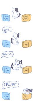 Cat logic by Flavia-Elric