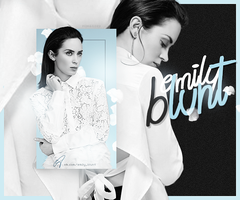 Emily Blunt by monagory
