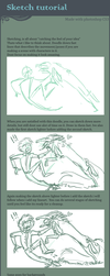 Sketching tutorial by griffsnuff