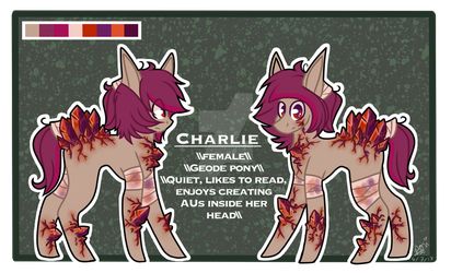 Charlie reference sheet by Chloodle