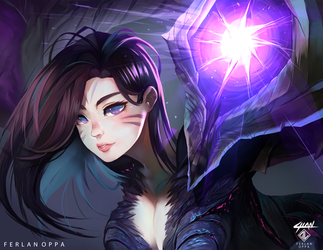 Kai'Sa Daughter of the Void by FerlanOppa