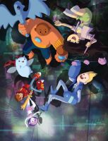 Bravest Warriors Print by peannlui