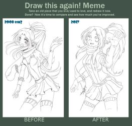Draw this again! Meme by SpookyRuthy