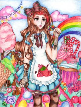 Alice in Candyland by NynjaKat