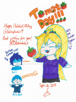 [Gift] Tomato Day!! by AoLady