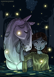 A Horse and her Girl by BlackCat5643