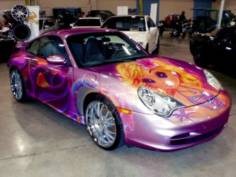 A Porsche Tribute to Lisa Frank by HeroMewtwo