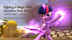 Animation Pack Release for Fighting is Magic SFM by PSFMer