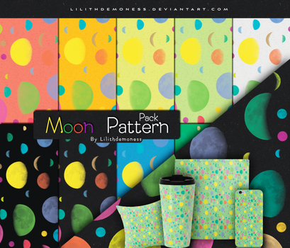 Moon Pattern Pack by LilithDemoness